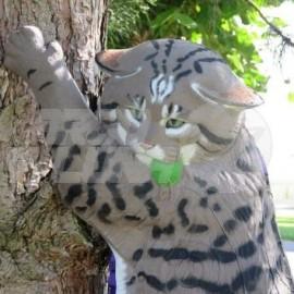 Diana 3D Naturfoam Gato Montés Trepando