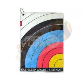 Toalla Secamanos Socx Eat Sleep Archery Repeat