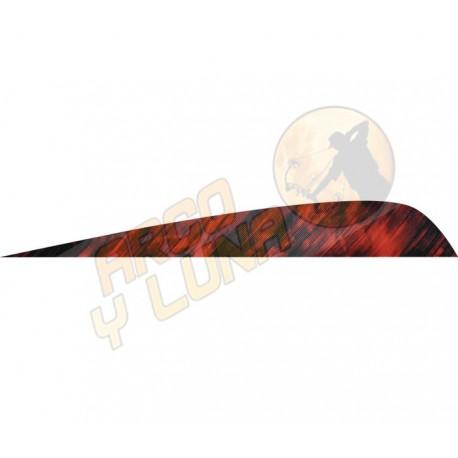 "Plumas AMG Feathers 4"" Parabolic Tre Camo"