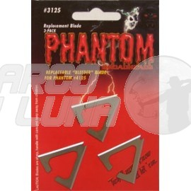 Cuchillas repuesto Muzzy Phantom pack 3