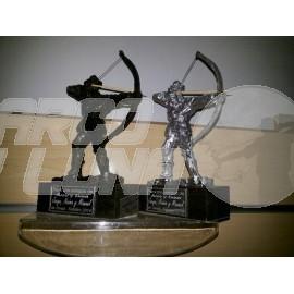 Trofeo arquero tradicional