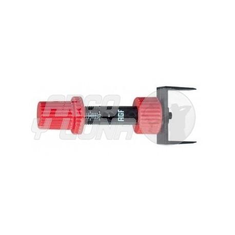 Chequeador AGF botón de presión
