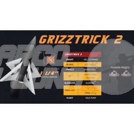 Punta de caza Slick Trick Grizztrick II Pack 4