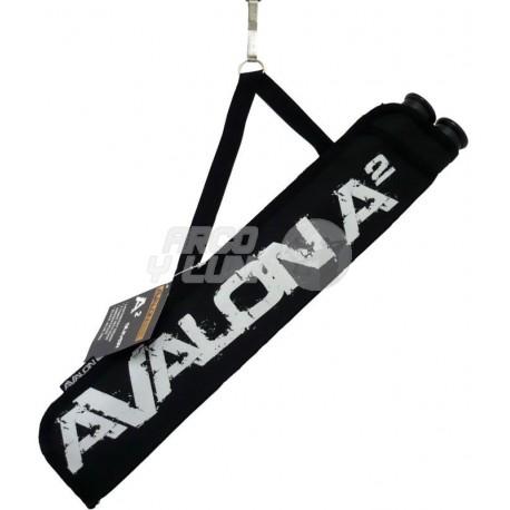 Carcaj Avalon 2 tubos Hook