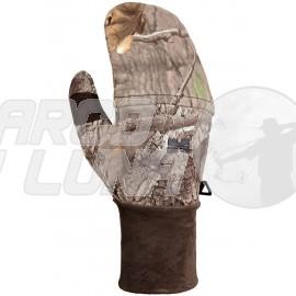 Guante manopla de caza Hillman Flap Windproof Oak