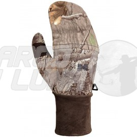 Guante manopla de caza Hillman Flap Windproof Oak