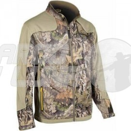 Chaqueta Yukon Gear YGLS Fleece Midlayer Mossy Oak Country