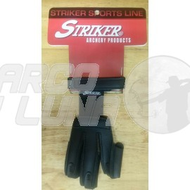 Guante dactilera Stryker Leather Classic Black