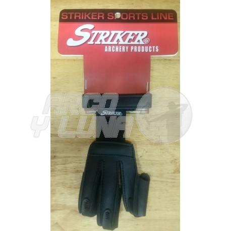 Guante dactilera Stryker Leather Classic Black