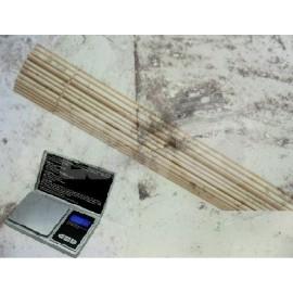 Pesado de vástago de madera