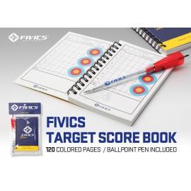 Cuaderno puntuación Fivics Target Score