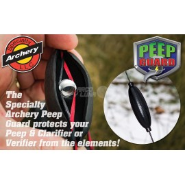 Specialty Archery Peep Guard Black