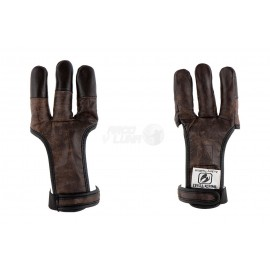 Guante dactilera Buck Trail Buffalo Brown Finger Tip Buffalo