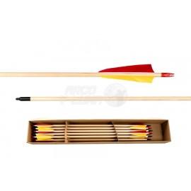 Flecha completa Buck Trail Standard 5/16 madera de abeto
