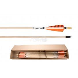 Flecha completa Buck Trail Deluxe 5/16 madera de abeto