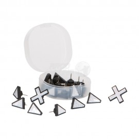 Marcadores de rastro reflectantes Allen X