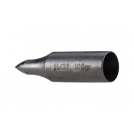Punta Timber Creek Bullet Taper Steel Glue On