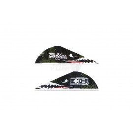 Plumas Bohning Blazer 2'' Flying Tiger Shark