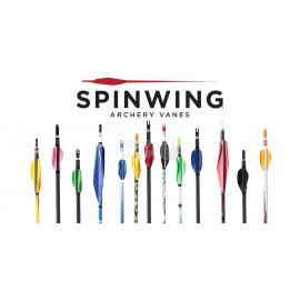 Pluma Spin-wing 50 unidades 1-3/4