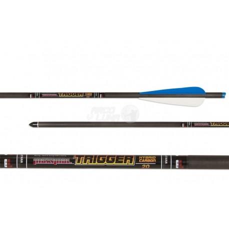 """Flecha de ballesta Maximal Hybrid Carbon 18"""""""