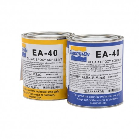 Resina Epoxy Smooth On Parte A+B 1,9 kg