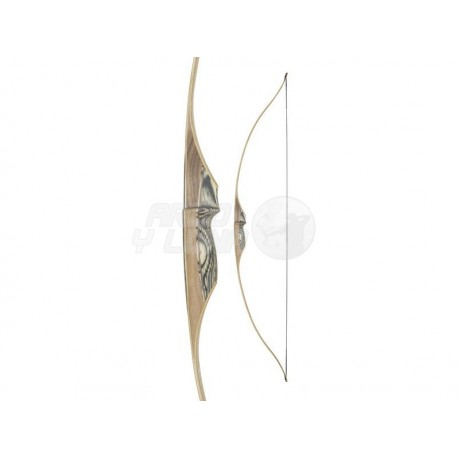 """Arco Longbow White Feather Petrel 54"""" Clear"""
