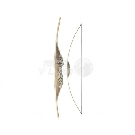 """Arco White Feather Longbow Shearwater 62"""" Clear"""