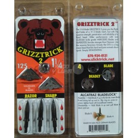 Punta Slick Trick Grizztrick II Pack de 3